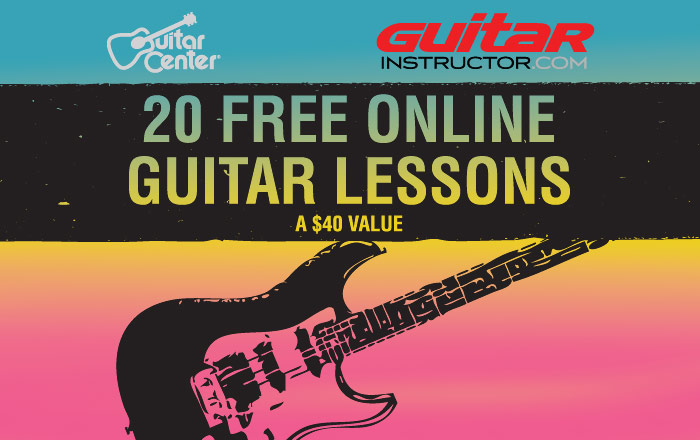guitar instructor guitar center free lessons. Black Bedroom Furniture Sets. Home Design Ideas